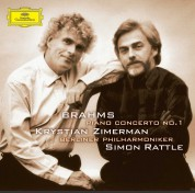 Berliner Philharmoniker, Krystian Zimerman, Sir Simon Rattle: Brahms: Piano Concerto No. 1 - Plak
