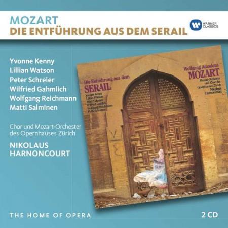 Nikolaus Harnoncourt, Yvonne Kenny, Lillian Watson, Peter Schreier, Chorus and Orchestra of the Opernhaus Zürich: Mozart: Die Entführung aus dem Serail - CD