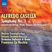 Francesco La Vecchia: Casella: Symphony No. 1 - Concerto for Piano, Timpani, Percussion and Strings - CD