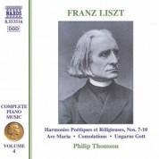 Liszt: 6 Consolations / Ave Maria - CD
