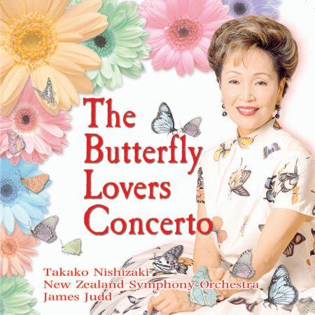 Takako Nishizaki: The Butterfly Lovers Violin Concerto - CD