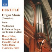 Henry Fairs: Durufle: Organ Music (Complete) - CD