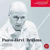 Paavo Järvi, Deutsche Kammerphilharmonie Bremen: Brahms: Symphony No.3 & 4 - CD
