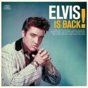 Elvis Presley: Elvis Is Back! - Limited Edition In Solid Orange Colored Vinyl. - Plak