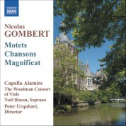 Peter Urquhart: Gombert, N.: Motets and Chansons - CD