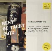 Çeşitli Sanatçılar: Best of Tacet 2012 - Plak