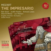 André Previn, English Chamber Orchestra, Reri Grist, Judith Raskin: Mozart: The Impresario, K. 486 - CD
