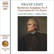 Leon McCawley: Liszt: Beethoven - Symphony No. 9 (Arr. for 2 Pianos) - CD