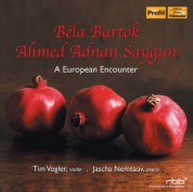 Tim Vogler, Jascha Nemtsov: Bela Bartok, Ahmed Adnan Saygun: A European Encounter - CD