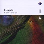 Trio Fontenay: Roslavets: Piano Trios 2, 4 - CD