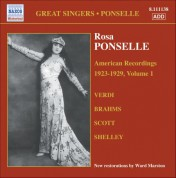 Ponselle, Rosa: American Recordings, Vol. 1 (1923-1929) - CD