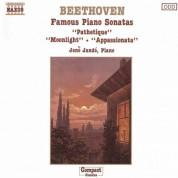 Jeno Jando: Beethoven: Piano Sonatas Nos. 8, 14 and 23 - CD