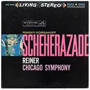 Chicago Symphony Orchestra, Fritz Reiner: Rimsky-Korsakov: Scheherazade (200g-edition) - Plak