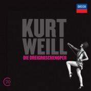 Ute Lemper, Mario Adorf, Milva, René Kollo, RIAS Sinfonietta Berlin: Weill: Dreigroschenoper - CD