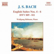 Bach, J.S.: English Suites Nos. 4-6, Bwv 809-811 - CD