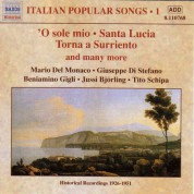 Italian Popular Songs, Vol.  1 (1930-1950) - CD