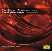 Boston Symphony Orchestra, Joseph Silverstein, Sherman Walt: Ravel/ Chabrier/ Rimsky-Korsakov - CD