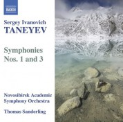 Thomas Sanderling: Taneyev, S.I.: Symphonies Nos. 1 and 3 - CD