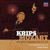 Concertgebouw Orchestra Amsterdam, Josef Krips: Mozart: The Great Symphonies 21-41 - CD