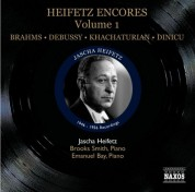 Jascha Heifetz: Heifetz: Encores, Vol. 1 (1946-1956) - CD
