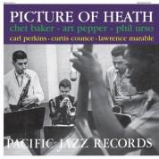 Chet Baker, Art Pepper: Picture Of Heath - Plak