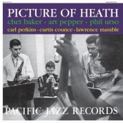Chet Baker, Art Pepper: Picture Of Heath - Plak