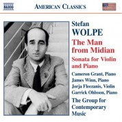 Wolpe: The Man From Midian / Violin Sonata - CD