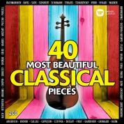 Çeşitli Sanatçılar: 40 Most Beautiful Classical Pieces - CD