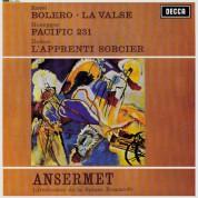 Orchestre de la Suisse Romande, Ernest Ansermet: Ravel: Boléro, La Valse / Honegger: Pacific 231 - Plak