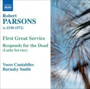 Barnaby Smith: Parsons, R.: First Great Service / Responds for the Dead - CD