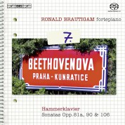 Ronald Brautigam: Beethoven: Complete Works for Solo Piano, Vol. 7 on forte-piano - SACD
