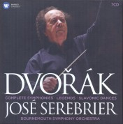 Bournemouth Symphony Orchestra, Jose Serebrier: Dvorak: Symphonies Nos 1-9 - CD