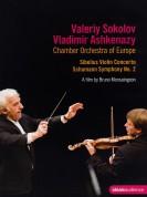 Valery Sokolov, Chamber Orchestra of Europe, Vladimir Ashkenazy: Sibelius: Violin oncerto / Schumann: Symphony No.2 - A film by Bruno Monsaingeon - DVD
