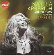 Martha Argerich & Friends Live from Lugano 2012 - CD