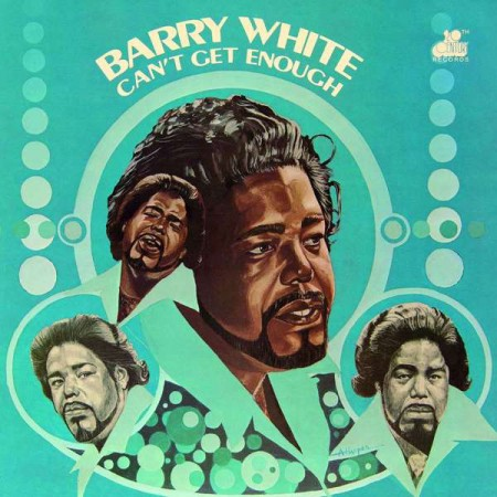 Barry White: Can't Get Enough - Plak