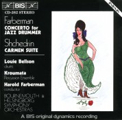 Louie Bellson, Kroumata Percussion Ensemble, Harold Farberman: Concerto for Jazz Drummer - Carmen Suite - CD