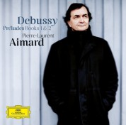 Pierre-Laurent Aimard: Debussy: Préludes Book I,II - CD