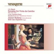 Anner Bylsma, Bob Van Asperen: Bach: Sonatas For Viola Da Gamba & Sonata In A - Plak