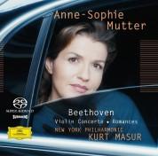 Anne-Sophie Mutter, Kurt Masur, New York Philharmonic Orchestra: Beethoven: Violin Concerto - SACD