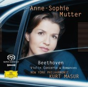 Anne-Sophie Mutter, Kurt Masur, New York Philharmonic Orchestra: Beethoven: Violin Concerto - SACD