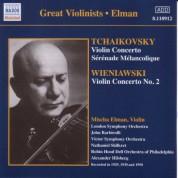 Tchaikovsky / Wieniawski: Violin Concertos (Elman) (1929, 1950) - CD