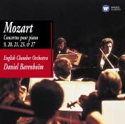 Daniel Barenboim: Mozart: Concertos pour piano 9, 20, 21, 23 & 27 - CD