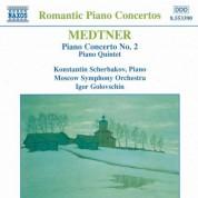 Medtner: Piano Concerto No. 2 / Piano Quintet - CD