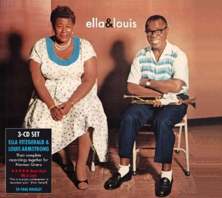 Ella Fitzgerald, Louis Armstrong: Ella & Louis - The Complete Norman Granz Sessions - CD