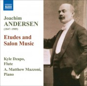 Kyle Dzapo: Andersen: Etudes and Salon Music - CD