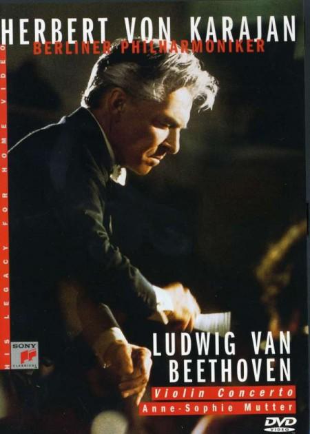 Anne-Sophie Mutter, Berliner Philharmoniker, Herbert von Karajan: Beethoven: Violin Concerto - DVD