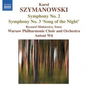 Antoni Wit: Szymanowski: Symphonies Nos. 2 and 3 - CD