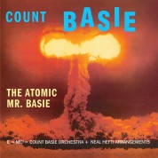 Count Basie: The Atomic Mr. Basie + 4 Bonus Tracks! Limited Edition in Solid Orange Virgin Vinyl. - Plak