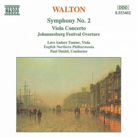 English Northern Philharmonia: Walton: Symphony No. 2 - Viola Concerto - CD
