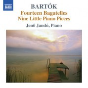 Jeno Jando: Bartók: Piano Pieces, Vol. 7 - CD